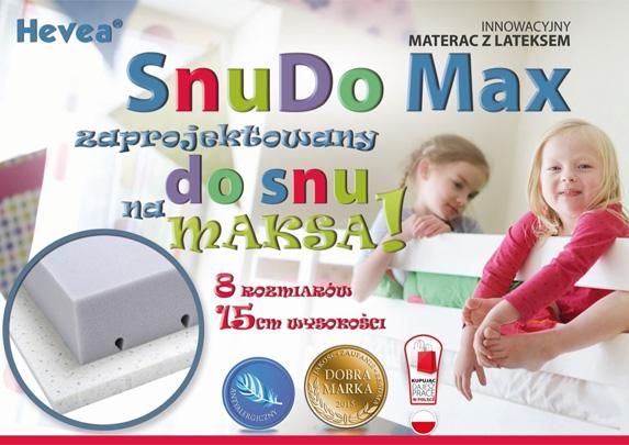 Materace Hevea Snudo Max